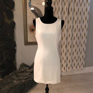 Off-White Fitted Dress
